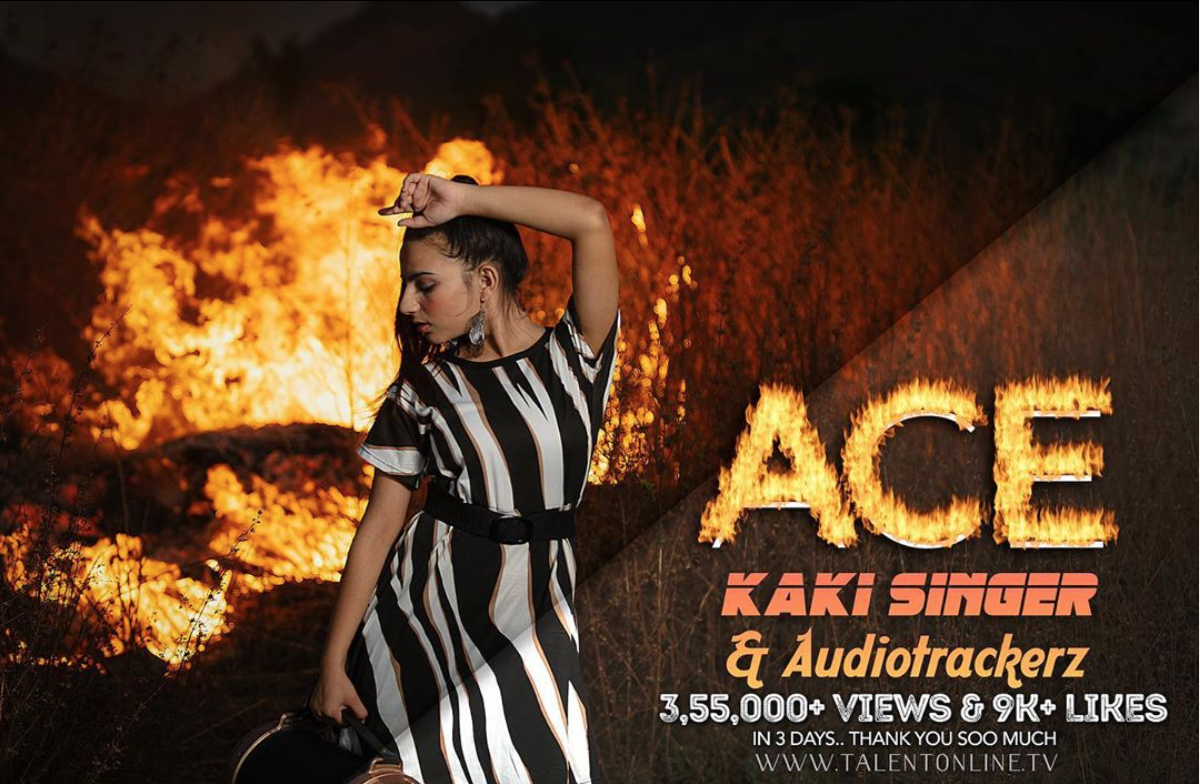 Screenshot 2020 05 20 at 1.18.51 AM Official Song ' ACE ' : by Singer-Songwriter Kaki and Dj Audiotrackerz